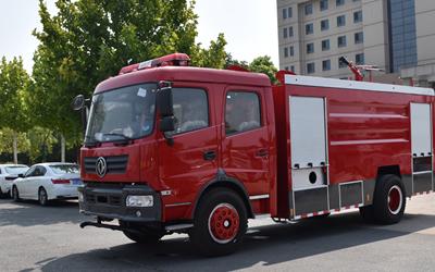 东风153双排消防车准备发往江苏徐州