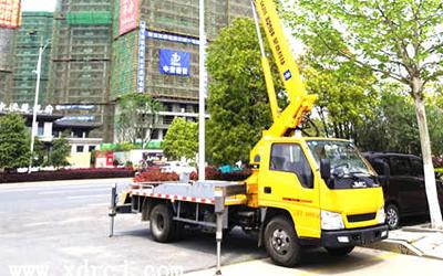 国五江铃顺达20米高空作业车准备发车了