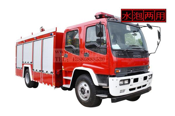 五十铃FTR-6吨泡沫消防车