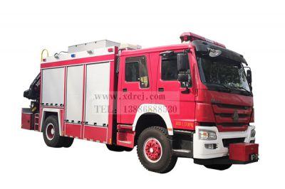 重汽抢险救援消防车