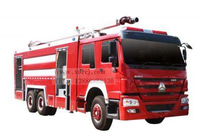 重汽18米举高喷射消防车