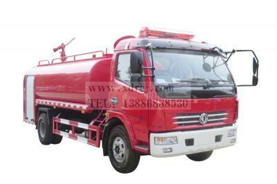 国五东风7吨消防洒水车