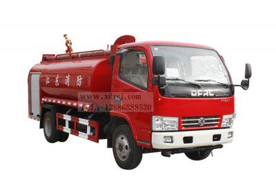 国五东风小多利卡4吨消防洒水车