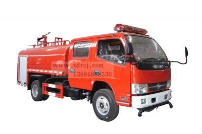 国五东风小多利卡双排3.5吨消防洒水车