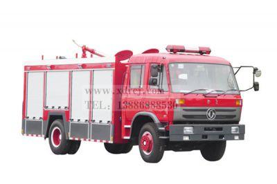 东风153-6吨水罐消防车