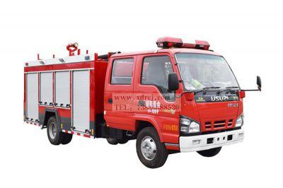 五十铃600P-2.5吨水罐消防车