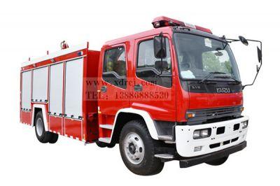 五十铃FTR-6吨水罐消防车