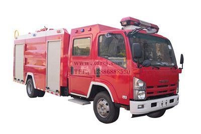 五十铃700P-3.5吨水罐消防车
