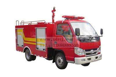 福田2吨微型水罐消防车