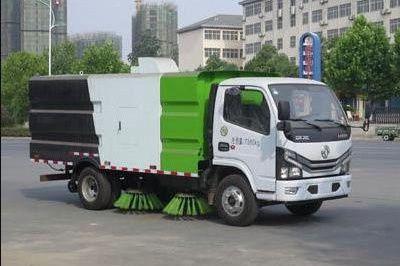 国六东风D6多利卡扫路车|5.5方扫路车