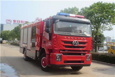 国五上汽红岩依维柯5吨水罐消防车