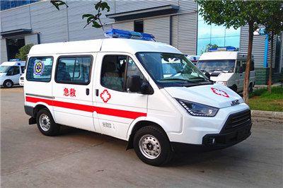 江铃特顺短轴监护型救护车,江铃救护车价格,-救护车生产厂家