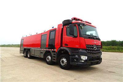奔驰Arocs18吨水罐泡沫消防车