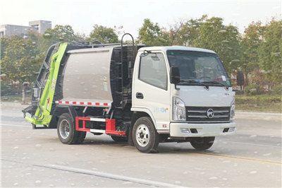 凯马国六3方蓝牌压缩式垃圾车