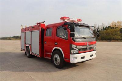 国六东风4吨泡沫消防车