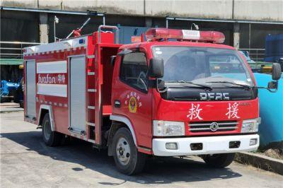 东风4吨泡沫消防车已经到达重庆,客户满意!!!