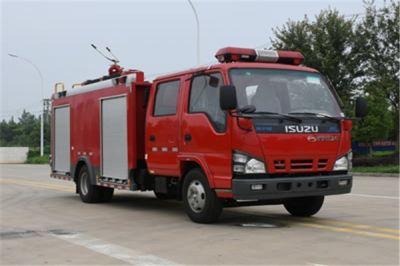 国六五十铃3吨泡沫消防车公告已经下达