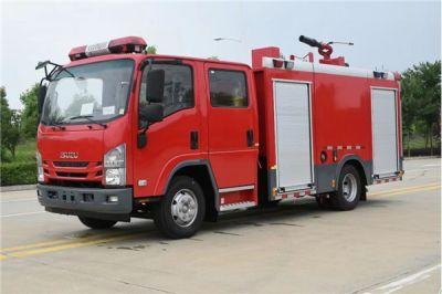 国六五十铃3-3.5吨水罐泡沫消防车
